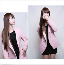 Fashion Women Cosplay Party Long Straight Wigs Full Wigs Synthetic Hair+Wig Cap