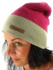 O'Neill Beanie Winter Hat Knitted flare red pink elastic