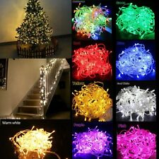 10M 100-LED Christmas Wedding Party decor LED String Fairy Light Waterproof