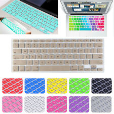 "USA EU/UK Version Keyboard Cover Skin for MacBook 12""/ Air White Pro 11"" 13"" 15"""