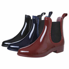 Women  Lady WELLIES RAIN Ankle Booties Military Combat Boots Fashion Dress Shoes