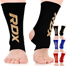 RDX Ankle Support Brace Anklet Foot MMA Guard Gym Sock Protector Shin BR
