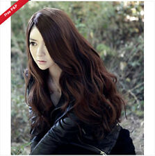 Cosplay Wig Womens Lady Long Curly Wavy Hair Full Wigs Party Costume Fashion Wig