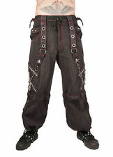 Tripp Nyc Red Mechanic Pants Bondage Emo Club Party Goth Skater Punk Rock S-3Xl