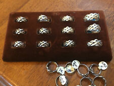 Sterling Silver 4 Band Puzzle Ring Hand Made