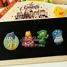 4pcs/set Inside out Refrigerator Magnetic Stickers/Fridge Magnets as Party Gift