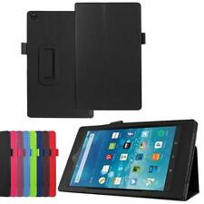 Fr Amazon Fire HD 7/HD 8/HD10 Tablet Leather Case Stand Cover Compact Ultra slim