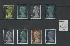 1977 High Value Machin Definitives VF Used, MNH Choice of stamps SG1026 - 1028