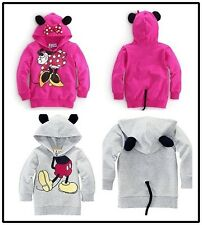 Minnie/Mickey Mouse Kid Boy Hoodies Coat Baby Girls Shirt Top Clothes 6M-8Y