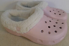 CROCS CHILDREN'S MAMMOTH COTTON CANDY OATMEAL SLIP ON CLOGS NEW WITH TAGS