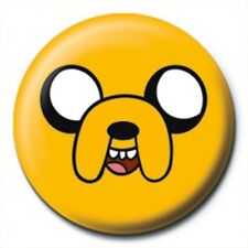 Adventure Time Jake The Dog Badge - NEW & OFFICIAL