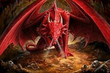 New Dragon's Lair Anne Stokes Poster