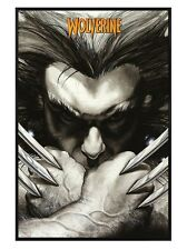 New Gloss Black Framed Marvel Extreme X-Men Wolverine Claws Poster
