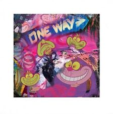 New Alice In Wonderland Psychedelic Cheshire Cat Print