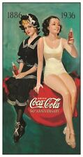 New Coca Cola Bathing Beauties Coke Metal Tin Sign