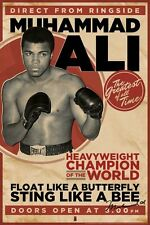 New Heavyweight Champion of the World Muhammad Ali Poster