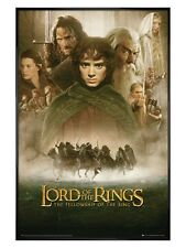 Lord of the Rings Gloss Black Framed The Fellowship of The Ring Poster 61x91.5cm