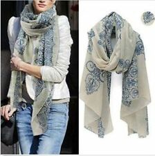 New Womens Fashion Pretty Long Soft Chiffon Scarf Wrap Shawl Stole Scarves Hot