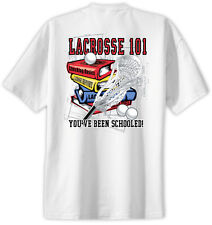 Lacrosse 101 T-Shirt Jersey Short Sleeve Tee New Adult and Youth Sizes