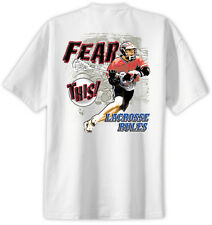 Lacrosse Fear This T-Shirt Jersey Short Sleeve Tee New Adult and Youth Sizes