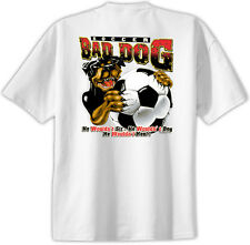 Soccer Bad Dog Soccer T-Shirt Jersey Short Sleeve New Adult & Youth Sizes