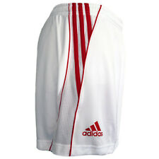 Adidas Fed Short Trousers Sport Trackies Ladies Size 40-46 Fitness white-red NEW