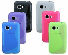 Samsung Galaxy Young 2 G130H Shell Mobile Phone Case Pouch + Display Film