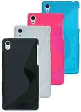 accessory set free choice Case Silicone Bag + Foil for Sony Xperia Z2