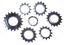 BMX & ROAD BIKE FIXED FIXIE TRACK SPROCKET 12/13/14/15/16/18 Tooth AND LOCK NUT