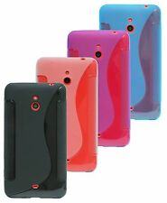 Nokia Lumia 1320 Shell Mobile Phone Case Pouch Silicone Protector Gel + Screen