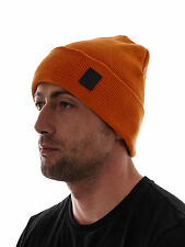 Brunotti Beanie Fine knit Beanie Winter hat Karold orange Patch