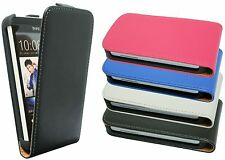 Case Faux Faux leather Case Cover For HTC Desire 300 + Screen protector