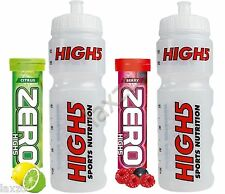 High5 Clear Water Bottle 10x Zero ELECTROLYTE MAGNESIUM Sports Drink Tablet