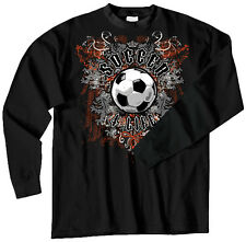 Soccer 4 Life T-Shirt Jersey Long Sleeve or Short Sleeve New Youth and Adult
