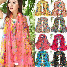 New Stylish Women's Long Shawl Stole Scarves Soft Chiffon Scarf Wraps 13Colors