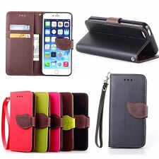 Luxury Leather Clip Flip Folio Wallet Card Holder Case Stand Cover For IPHONE US