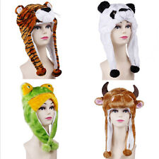 New Popular Winter Cartoon Animal Cute Fancy Costume Mask Warmer Hat Beanie Cap