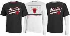 CHICAGO BULLS NBA TEAM COLORS ADIDAS 3 in 1 COMBO PACK OF TWO SHIRTS NWT