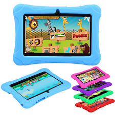 "2016 7"" Google Android 4.4 Quad Core 8GB Camera WIFI Tablet PC W/ CASE Kids Game"