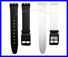 16mm Generic Replacement Watch Band Strap Suits Swatch Skin (34mm case diameter)