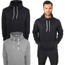 Urban Classics High Neck Pocket Crew Hoody Sweatshirt Hood