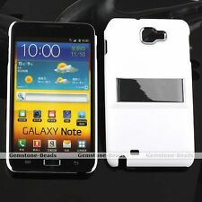 PC Flip Stand Case Back Cover Skin Protector For Samsung Galaxy Note i9220 Gift