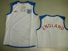 England S-less Training Jersey WM 2010 Orig Umbro Size s M L XL new