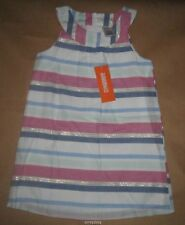 Gymboree Desert Dreams Striped Lined Dress 4, 5, 6 NWT