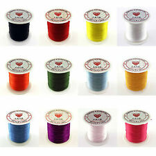 Stretchy Elastic Crystal String Cord Thread Jewelry Making Findings 10/100Yards