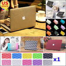 """Marble/ Silk Leather/ Matte Hard Case+Keyboard Cover for Air Pro 11"""" 13"""" Retina"""