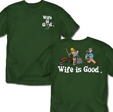 Wife is good Golfing - T-Shirt - Adult Sizes
