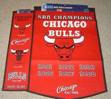 CHICAGO BULLS  DYNASTY - HERITAGE BANNER COLLECTION