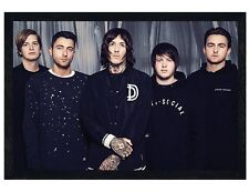 Bring Me The Horizon Black Wooden Framed Umbrella BMTH Maxi Poster 61x91.5cm