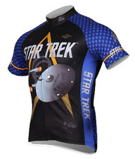 Star Trek Science Blue Cycling Jersey Mens Brainstorm Gear bike bicycle with Sox